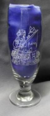 Glas met naam